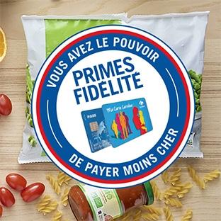 Prime fidélité Carrefour Centre commercial Carrefour Market Auterive